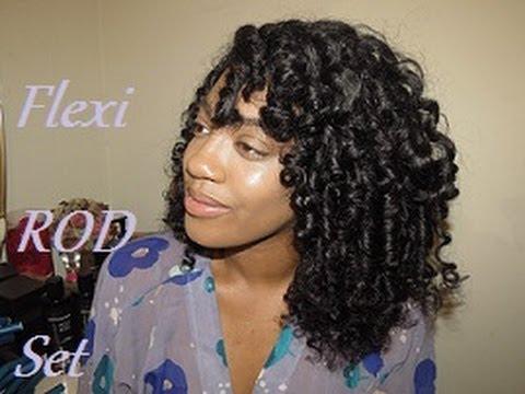 flexi rod set -spiral curls