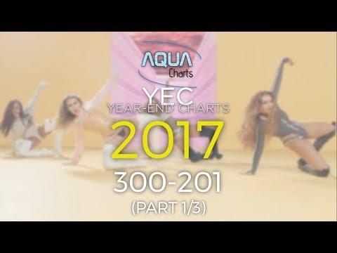Aqua Year-End Charts 2017 • 300-201 • Part 1/3