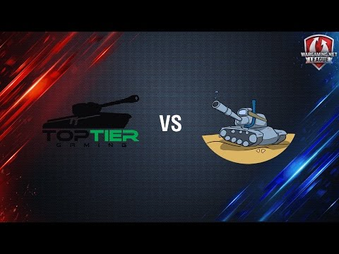 World of Tanks - Top Tier vs AM60s - WGLNA S2 2016-2017 Week 1 Day 1