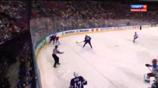 США - Россия 0 - 4. Хоккей. ЧМ 2015. Полуфинал.