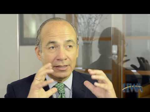Felipe Calderon - Lessons Learned as an International Climate Change Advocate