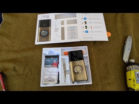 Home Repair Ring Install Ring Smart Doorbell System By