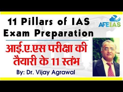 11 Pillars of IAS preparation by Dr. Vijay Agrawal | AFE IAS | IAS Coaching