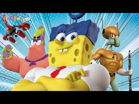 SpongeBob | HeroPants | Full Movie Game | Bob Esponja | ZigZag HD