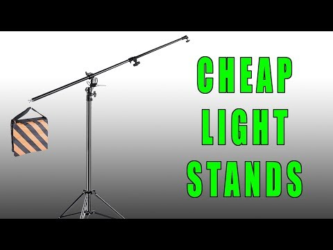 The Best Budget Friendly Light Stand (Cheap C Stand Alternative)