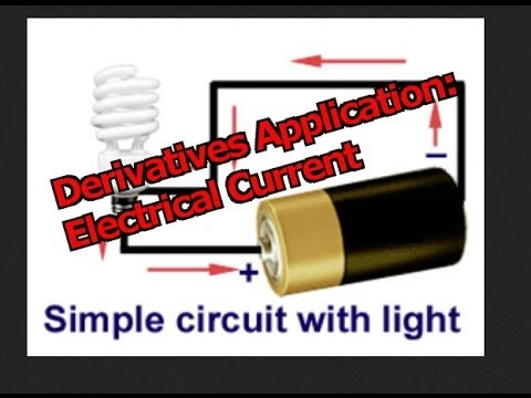 Derivatives Application: Electrical Current