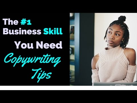 The #1 Business skill you need: Tips on Copywriting