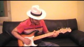 WingH Animba play G Blues on Sofa