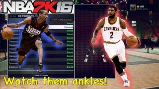 BEST ANKLE BREAKER SIGNATURE STYLES!! HOW TO BREAK ANKLES!! NBA 2K16 My Park