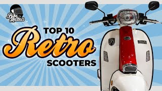 Top 10 Retro Scooters 2020!