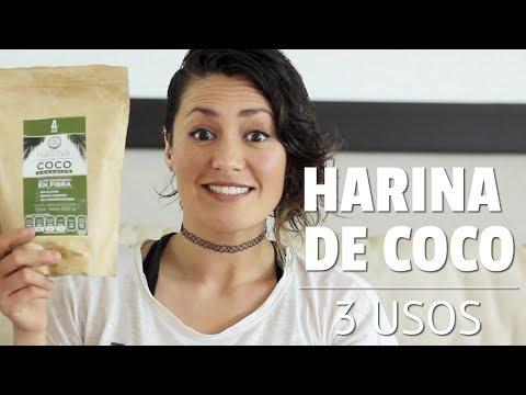 3 usos para la harina de coco