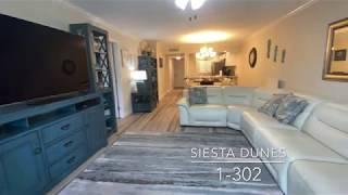 Siesta Dunes 1-302 Recently Renovated | Siesta Key Vacation Rentals