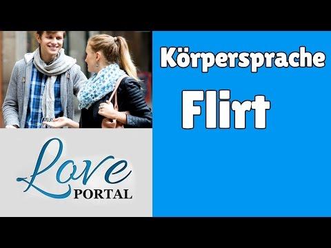 Frauen flirt blicke