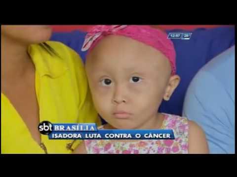 Isadora luta contra o câncer