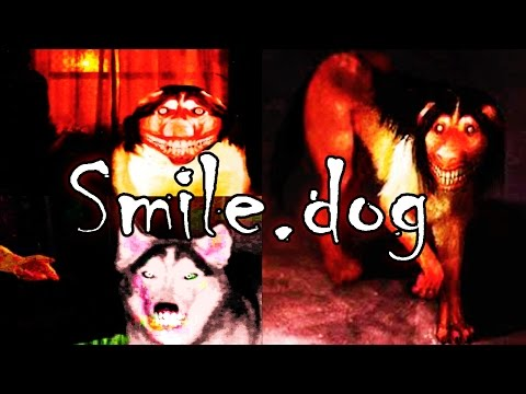 "Smile.dog Creepypasta ""Smile.jpg"""