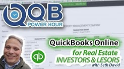QB Power Hour: QuickBooks Online for Real Estate - Investors