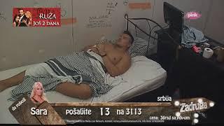 Zadruga - Luna posle svađe sa Slobom plače, on jede picu - 19.06.2018. thumbnail
