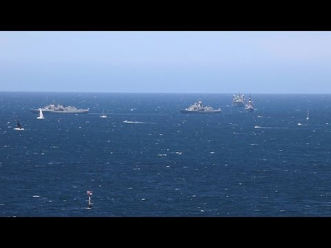 ANZAC Albany 100th Anniversary 1st Convoy Sailing WWI - 01 Nov 2014
