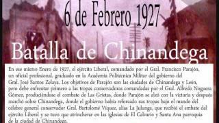 Batalla de Chinandega  1927 Nicaragua manfut