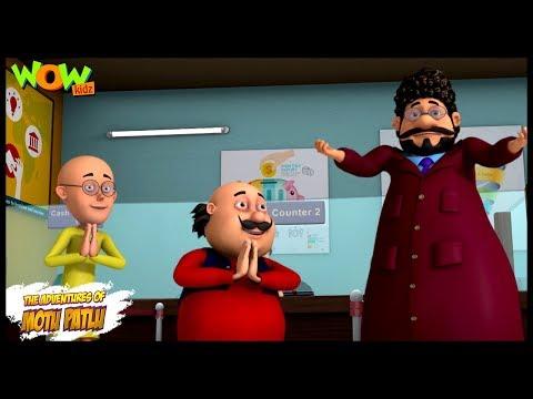 Motu Patlu New Episode | Hindi Cartoons For Kids | MP Bank | Wow Kidz
