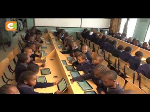 Primary school pupils embrace digital learning