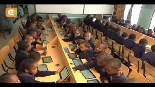 VIDEO: Primary school pupils embrace digital learning