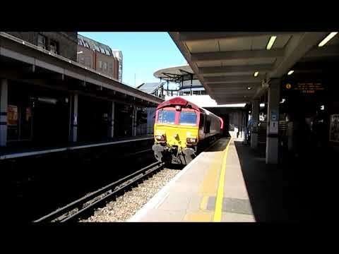 London Freight Trains 17 04 21