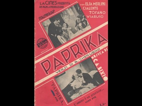 Elsa Merlini in Paprika - 1933 di Carl Boese