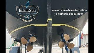 EclairSea vous présente la motorisation électrique du koad karantez