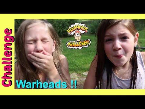 WARHEAD CHALLENGE EXTREME SOUR CANDY | Best Friends