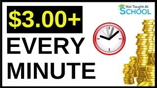 Earn Up To $3.00+ Every 60 Seconds And Cool Twist To Earn More
