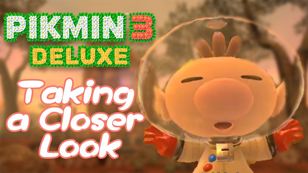 Pikmin 3 Deluxe Screenshots Pre Order Details Show New