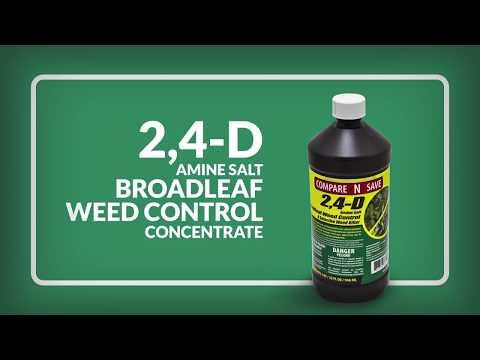 Compare N Save 2,4 D Amine Salt Broadleaf Weed Control