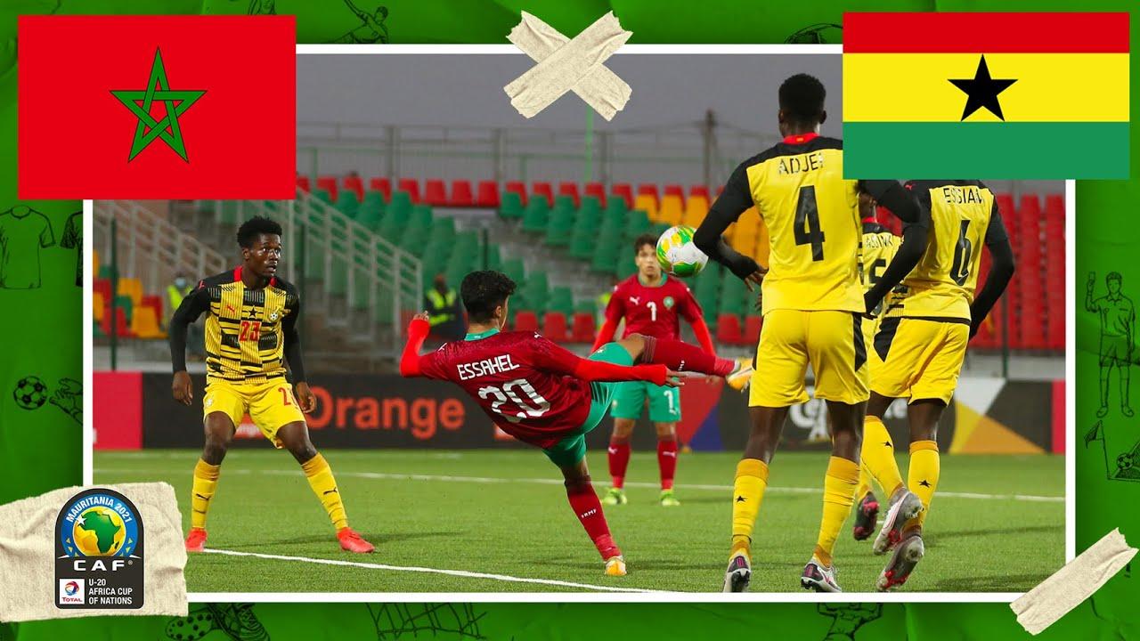 Morocco vs Ghana | AFCON U-20 HIGHLIGHTS | 2/19/2021 | beIN SPORTS USA