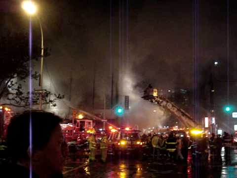 Fire in Chinatown NYC: Hong Kong Supermarket burns down