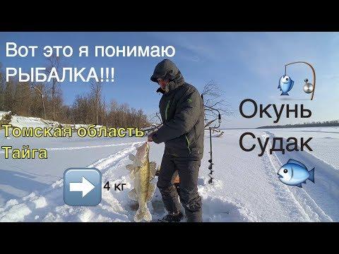 Рыбалка в Томской области. Парабель. Зима 2016 г.