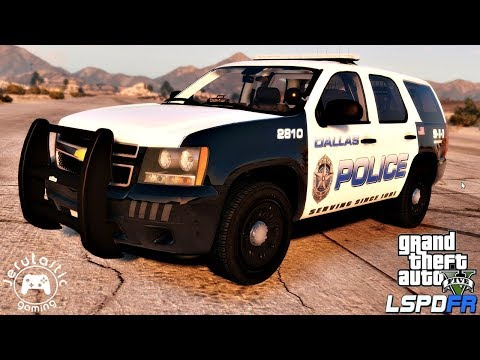 GTA 5 LSPDFR Live Stream #7 - Dallas Police Department (Chevy Tahoe Police Truck)