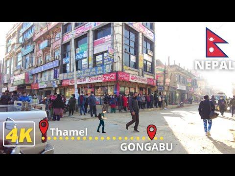 Busy Morning Office Hour in KATHMANDU - 4K Virtual Walking Tour in Nepal | DJI Pocket -4k60fps