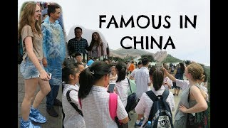 White Girl is Famous in China