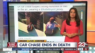 LA Police Chase Ends in Death