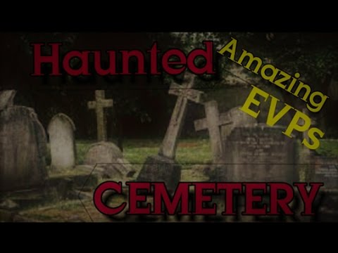 HAUNTED ROSE CEMETERY AT NIGHT (SPIRITS TELL US SO MUCH)
