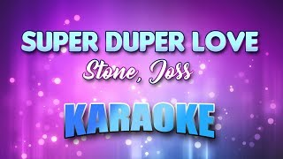 Stone, Joss - Super Duper Love (Karaoke & Lyrics)