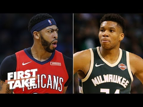 Stephen A. Smith rants about Anthony Davis being better than The Greek Freak | First Take | ESPN