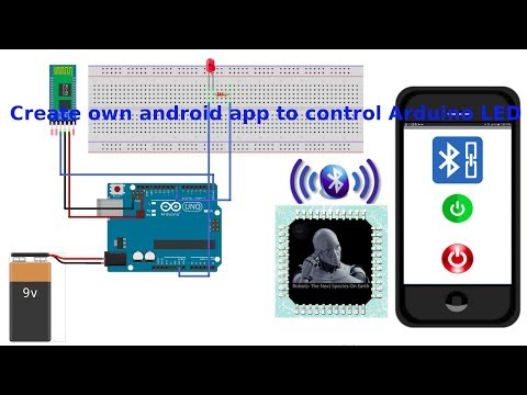 How To Create  Own Android App To Control Arduino LED