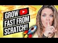 GROW WITH 0 VIEWS AND 0 SUBSCRIBERS  SECRETS REVEALED