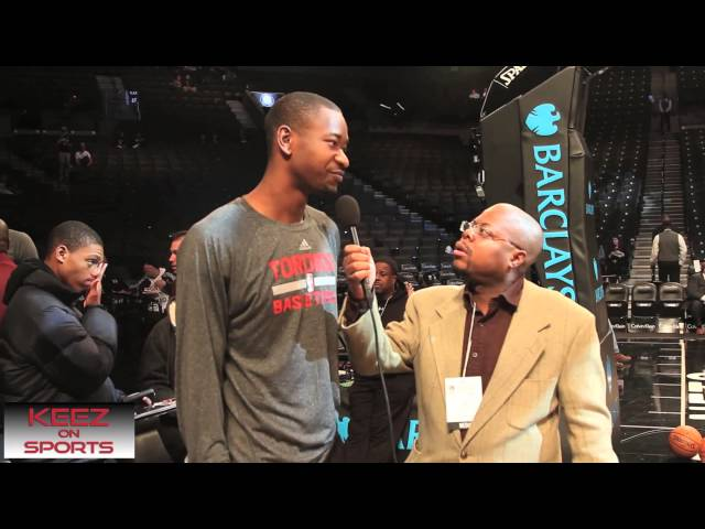 Terrence Ross talks kicks with Keez On Sports Travel Video