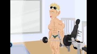 Ultimate Douchebag Workout - Super Duty Master Flex - Neck