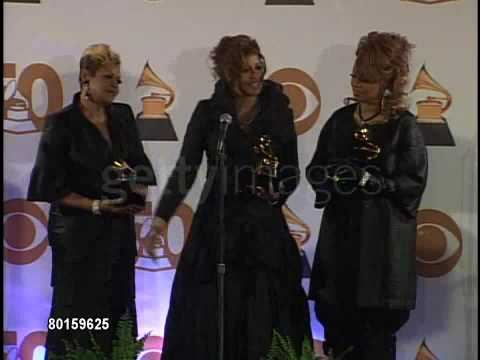 The Clark Sisters 2008 Grammy Press Conference