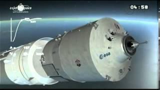 Ariane 5 launch of ATV 4   Automated Transfer Vehicle 4 Albert Einstein