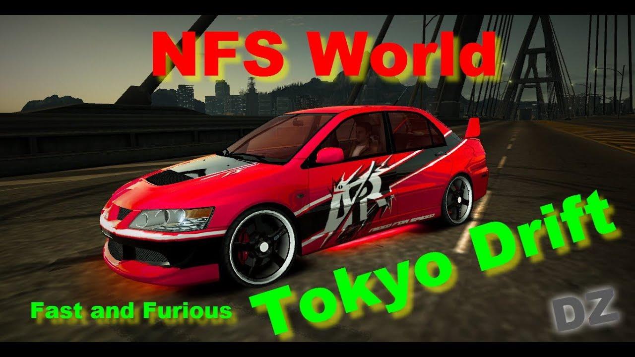 Tokyo Drift Lancer Evo Vinyl Nfs World Vinyl Mitsubishi